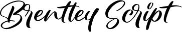 Brentley Script Font
