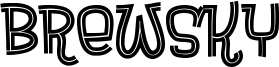 Brewsky Font