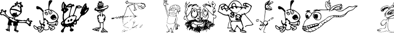 Brian powers Doodle 2 Font