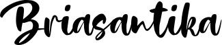 Briasantika Font