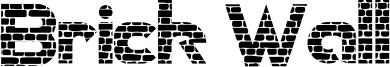 Brick Wall Font