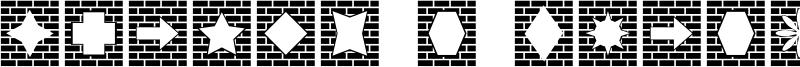 Bricks n Things Font
