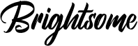 Brightsome Font
