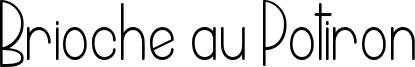 Brioche au Potiron Font