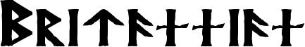 Britannian Font