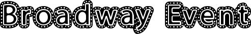 Broadway Event Font