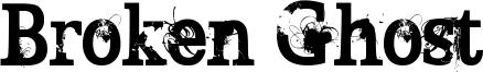 Broken Ghost Font
