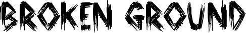 Broken Ground Font