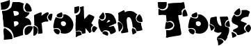 Broken Toys Font