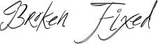 Broken Fixed Font