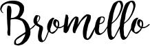 Bromello Font