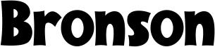 Bronson Font