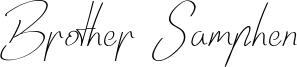 Brother Samphen Font