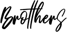 Brotthers Font