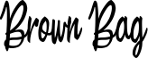 Brown Bag Font