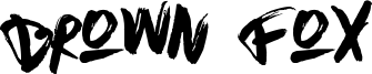 Brown Fox Font