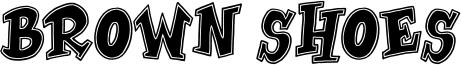 Brown Shoes Font