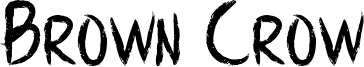 BrownCrow - Personal Use Only.otf