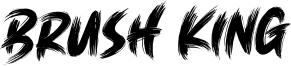 Brush King Font