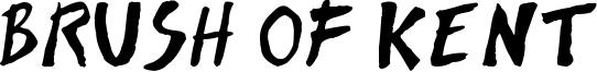 Brush of Kent Font