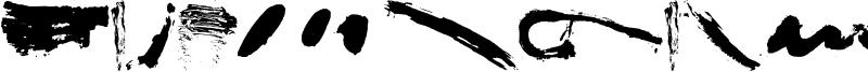 Brush Stroke Of Genius Font