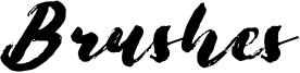 Brushes Font
