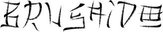 Brushido Font
