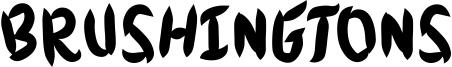 Brushingtons Font