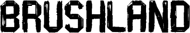 Brushland Font