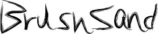 BrushSand Font