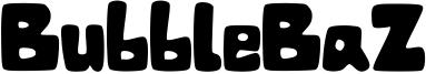 BubbleBaZ Font