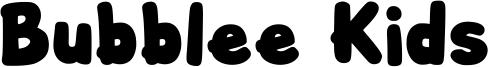 Bubblee Kids Font
