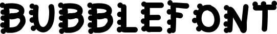 Bubblefont Font