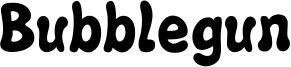 Bubblegun Font