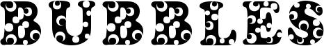 Bubbles Font