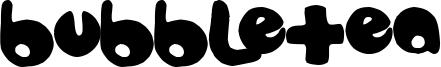 Bubbletea Font