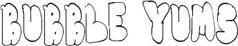 Bubble Yums Font