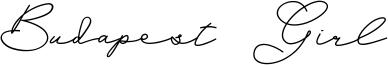 Budapest Girl Font