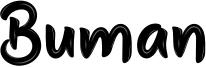 Buman Font