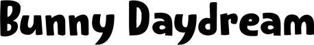 Bunny Daydream Font