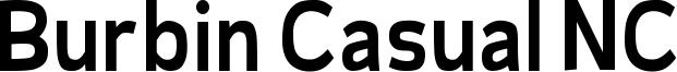 Burbin Casual NC Font