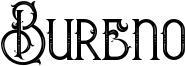 Bureno Font