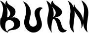 Burn Font