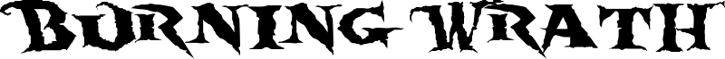 Burning Wrath Font