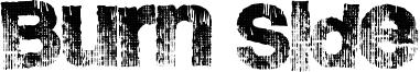 Burn Side Font