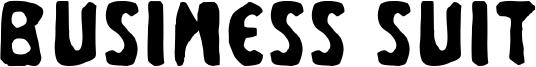 Business Suit Font