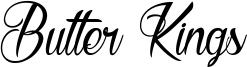 Butter Kings Font