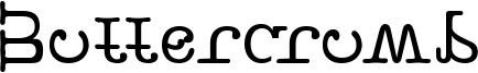 Buttercrumb Font
