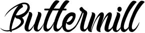 Buttermill Font