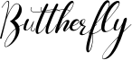 Buttherfly Font